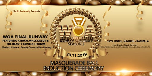 WOA Icons of Substance Masquerade Ball Induction Ceremony Season 2