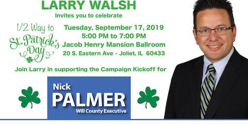 Nick Palmer for County Executive Campaign Kickoff Fundraiser