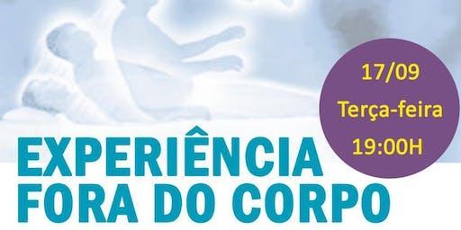 "Palestra na Leitura Américas Shopping: ""Experiência Fora do Corpo."""