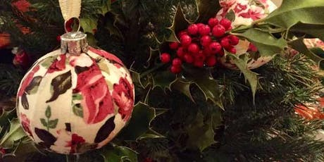DRINK AND DO: FABRIC DECOUPAGE BAUBLES tickets