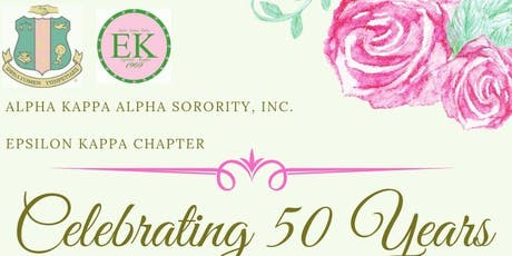 Epsilon Kappa Chapter - 50th Anniversary Celebration - Coppin State University tickets