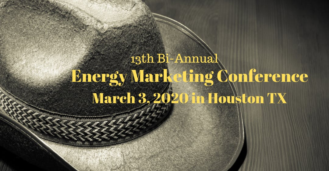 Energy Marketing Conference 13 Houston TX