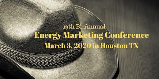 Energy Marketing Conference 13, Houston TX