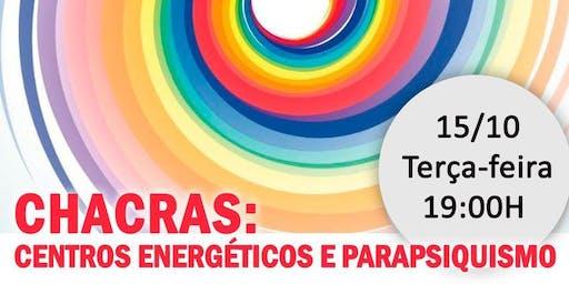 "Palestra na Leitura Américas Shopping: ""Chacras: Centros Energéticos e Parapsiquismo."""