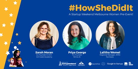 How She Did It! | Startup Weekend Women Pre-Event! tickets