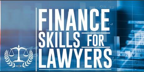Finance Skills for Lawyers #fsfl tickets