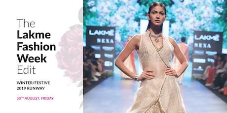 Pernia's Pop Up Shop presents The Lakme Fashion Week Edit tickets