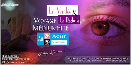 Médiumnité en Vendée et la Rochelle billets