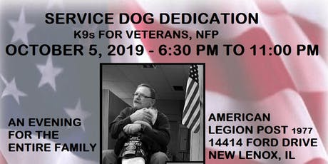 Service Dog Dedication tickets