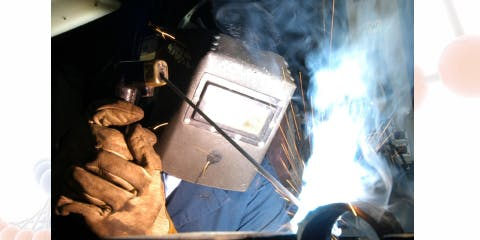 Live Welding Demonstration with AIP Welding Supplies and Pennie Elfick