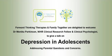 Depression in Adolescents - Guidance for Parents tickets