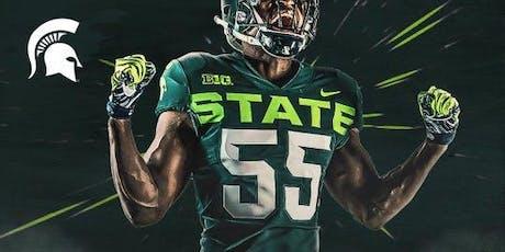 Orlando Spartans Football Game Watch: MSU at Wisconsin tickets