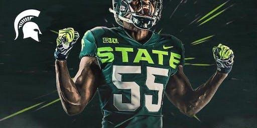 Orlando Spartans Football Game Watch: MSU at Wisconsin