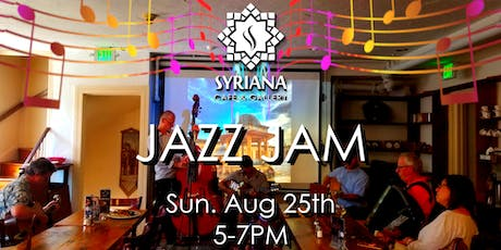 Jazz Jam at Syriana: Hosted by The Baltimore Swing Drop tickets