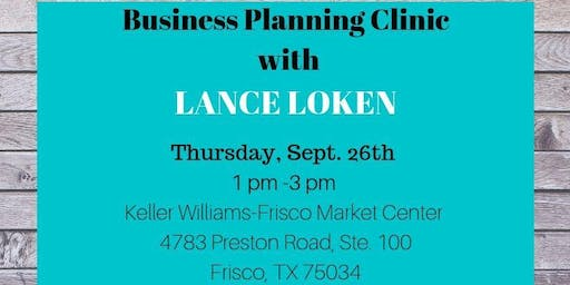 Business Planning With Lance Loken