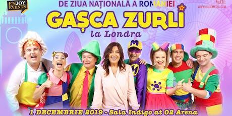 Gasca Zurli in Londra tickets