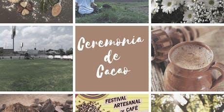 CEREMONIA DE CACAO entradas