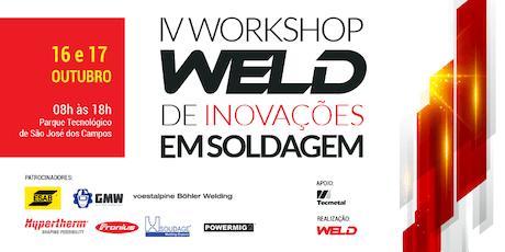 IV Workshop WELD de Inovações em Soldagem ingressos
