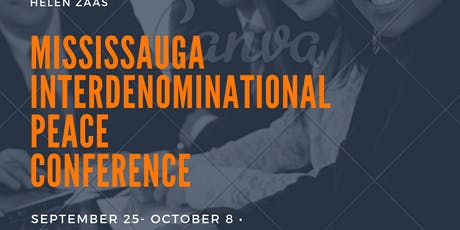 MISSISSAUGA INTERDENOMINITIONAL PEACE CONFERENCE tickets