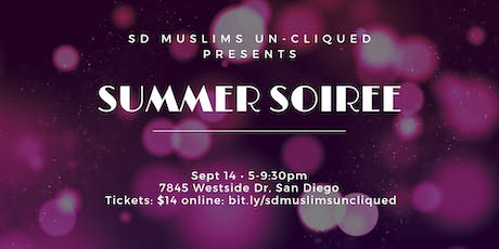 Summer Soiree tickets