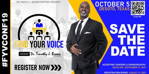 Find Your Voice Ministers' Conference #FYVConf19