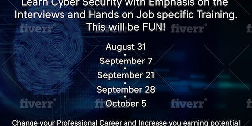 Cyber Security Boot Camp Saturday Training to Prepare for Interviews & Job