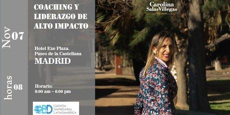 Seminario Coaching y Liderazgo de Alto Impacto (8 horas) tickets