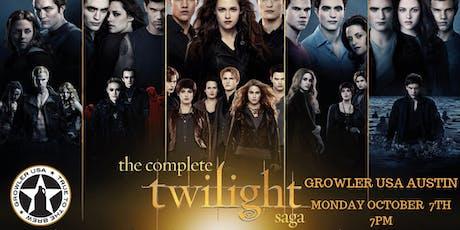 Twilight Saga Trivia at Growler USA Austin tickets