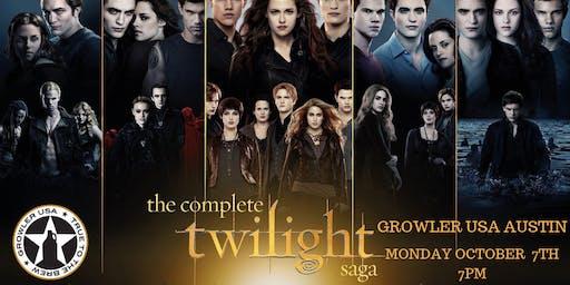 Twilight Saga Trivia at Growler USA Austin