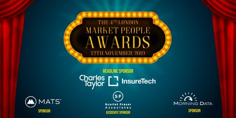 THE LONDON INSURANCE MARKET PEOPLE AWARDS 2019 tickets