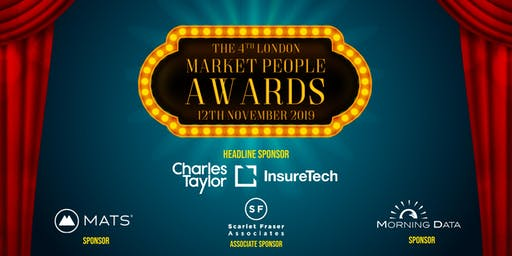 THE LONDON INSURANCE MARKET PEOPLE AWARDS 2019