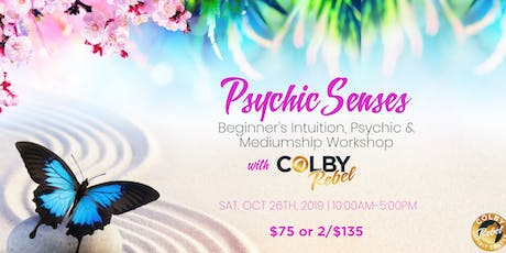 Psychic Senses: Beginner's Intuition, Psychic & Medium Workshop tickets