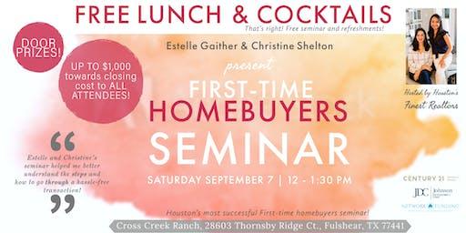 Free seminar - First-time homebuyers