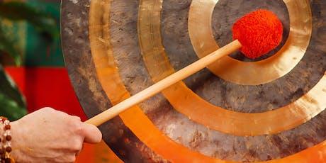 Healing Gong Bath Meditation tickets