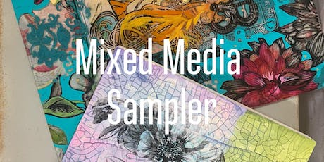 Mixed Media Sampler Workshop  tickets