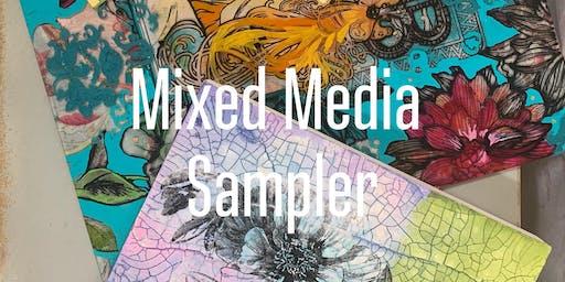 Mixed Media Sampler Workshop