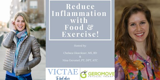 Reduce Inflammation with Food & Exercise!