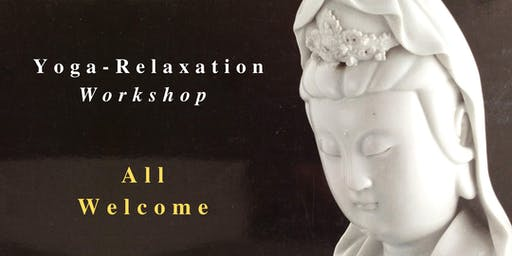 YOGA-RELAXATION GALWAY WORKSHOP Saturday 19 October 10-11:30am