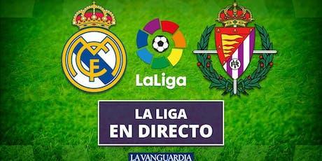 VER@!.R.e.a.l Madrid Valladolid en e.n directo online gratis tv entradas