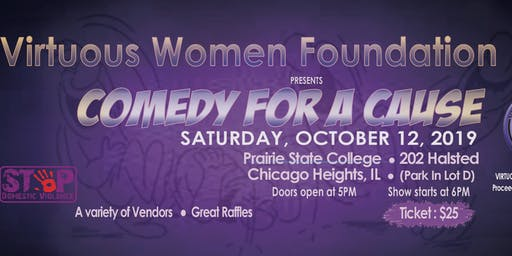 Virtuous Women Foundation Presents Comedy For A Cause
