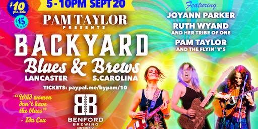 Pam Taylor Presents- Backyard Blues & Brews