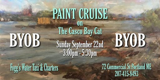 PAINT CRUISE on The Casco Bay Cat