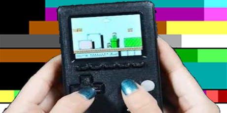 Make a Custom Handheld Retro Game Console tickets