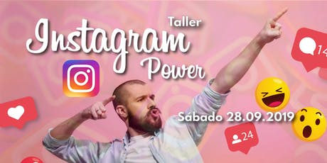 Taller de Instagram Power entradas