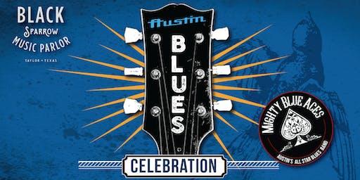Black Sparrow Austin Blues Celebration with Mighty Blue Aces