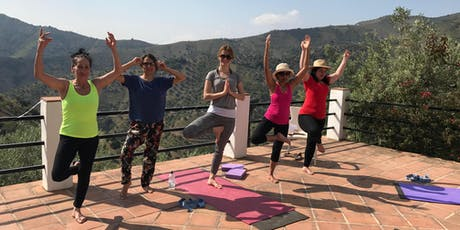 5 Days Rejunivating Yoga Retreat in Andalusia, Spain with Granada trip tickets