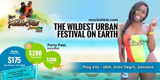 Mocha Fest Jamaica 2020  (Memorial Day Weekend)