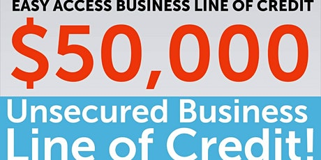 Easy Access to Business Lines of Credit - Richmond tickets