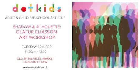 Pre-School Art Club: Shadow & Silhouette - Olafur Eliasson Children's Art Workshop tickets