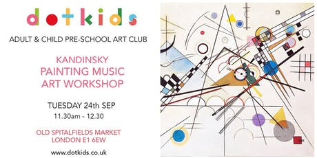 Pre-School Art Club: Kandinsky Painting Music Children's Art Workshop tickets